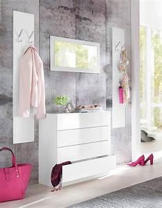 Moderne Garderoben Set : garderoben set vaasa 3 3 tlg mit push to open funktion online kaufen otto ~ Frokenaadalensverden.com Haus und Dekorationen