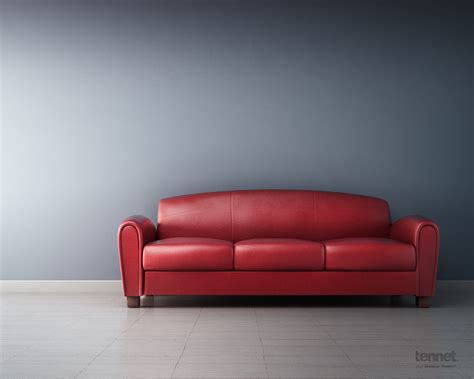 Interior Design, Italian Couch — 3d Render  Cg Tennet