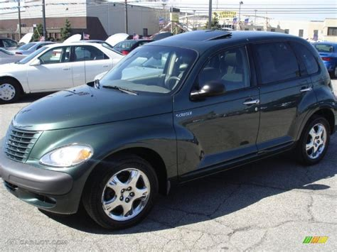 2001 Shale Green Metallic Chrysler Pt Cruiser Limited