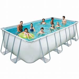 Piscine Rectangulaire Tubulaire Pas Cher : piscine tubulaire elite pas cher piscine manomano ~ Dailycaller-alerts.com Idées de Décoration
