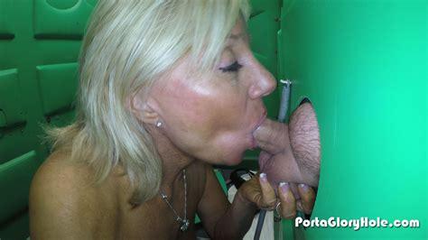 Porta Gloryhole Mature Babe Swallows Lots Of Porn