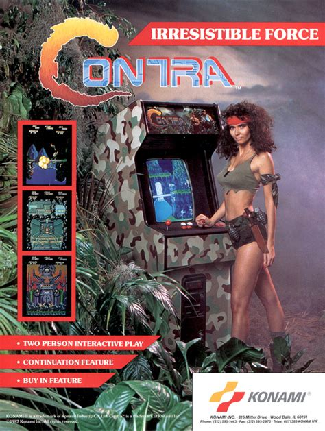 Play Contra Coin Op Arcade Online Play Retro Games
