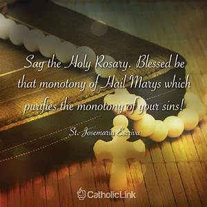 17 Best images ... Rosary Quotes