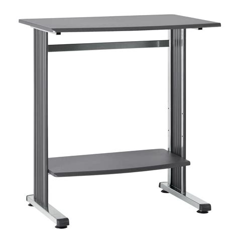 build a standing desk home depot buddy products 40 in h x 37 in w x 27 in d charcoal