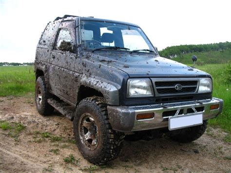 Daihatsu Rocky For Sale by 1996 Daihatsu Rocky Pictures For Sale