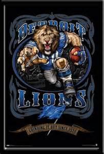 Detroit Lions Football Mascot
