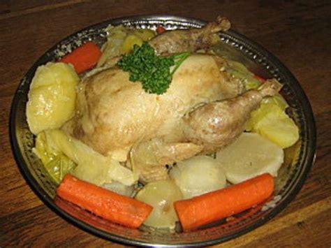 cuisine poule au pot recettes de poule au pot 3