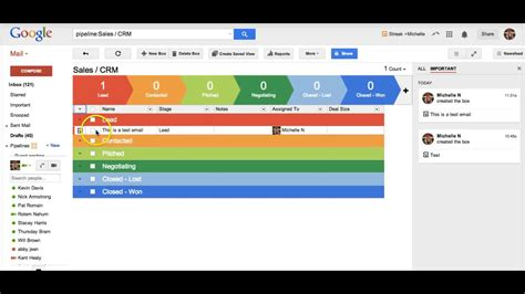 review streak crm  gmailgoogle apps youtube