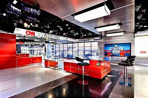 Evolution Of Lighting Technology Cnn Studio A B Washington Broadcast Set Design Gallery