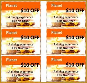 7 meal voucher template free download fabtemplatez With free meal coupon template