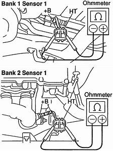 Toyota Sienna Bank 1 Sensor 1 Location
