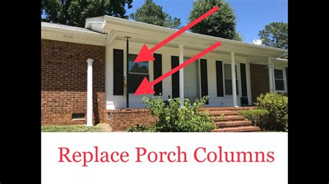 Replacing Porch Columns by Replace Porch Columns