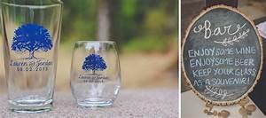 mt pisgah summer wedding ae creative With beer glass wedding favors