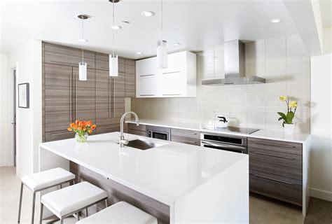 style de cuisine moderne photos cuisine modele de cuisine amenagee fonctionnalies