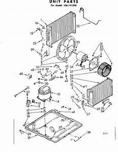 Kenmore 106741390 Central Air Conditioner Parts