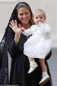 Swedish Princess Leonore Looks Glum As She Meets The Pope