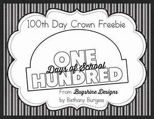100th day of school crown printable freebie tpt With 100th day of school crown template