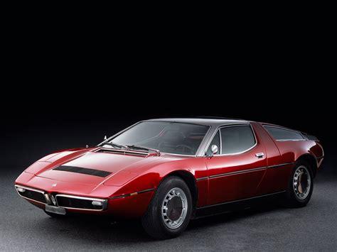 1971 78 Maserati Bora Am117 Supercar Classic R Wallpaper