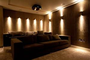 Wall sconces home theater homes decoration tips for Home theater lighting ideas