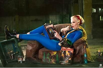 Fallout Vault Cosplay Wallpapers Deviantart Background Wallpapersafari
