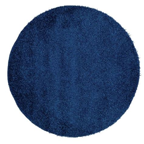 tapis rond chambre tapis rond bleu marine
