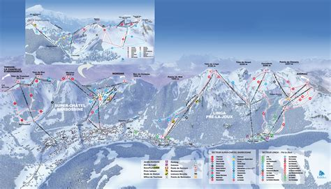 domaine skiable alpin ski nordique ch 226 tel plan des pistes ch 226 tel planeteski