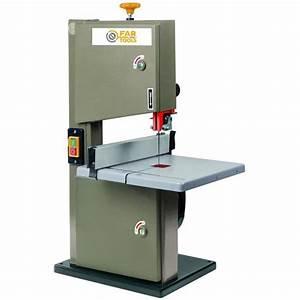 Ponceuse à Ruban : fartools scie ruban 250w d205mm coupe 80mm achat ~ Premium-room.com Idées de Décoration