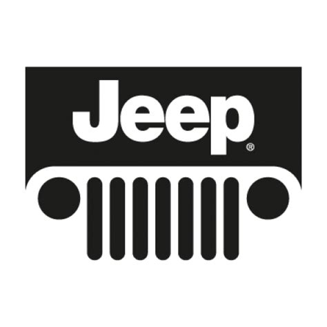 jeep wrangler logo vector jeep new logo vector ai free graphics download