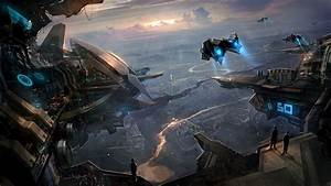 Artwork Fantasy Art Spaceship Concept Art Digital Art
