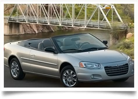 sebring convertible tops chrysler sebring soft top