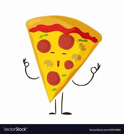 Funny Pizza Slice Icon Cheese Clipart Fast
