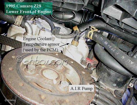 coolant temp sensor location chevy impala ss forum
