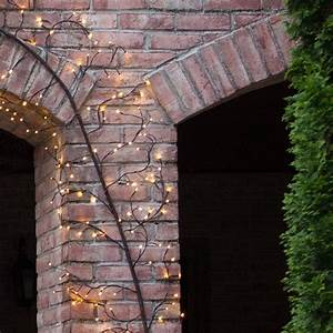 Brown Climbing Vine Lighted Branches With Warm White Led Lights  1 Pc
