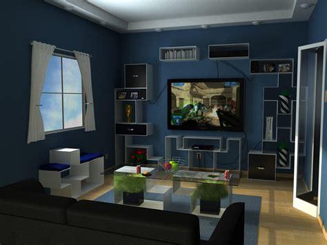 Amazing Of Excellent Beautiful Blue Living Room Interior #620