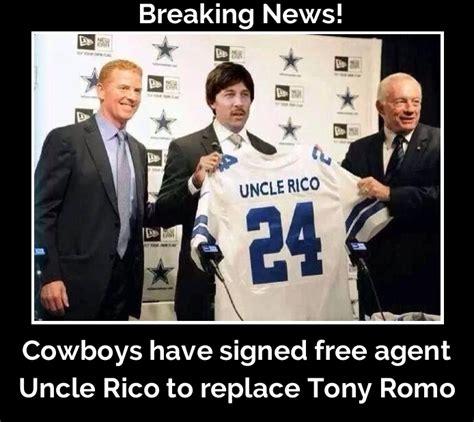 dallas cowboys  signed  agent uncle rico