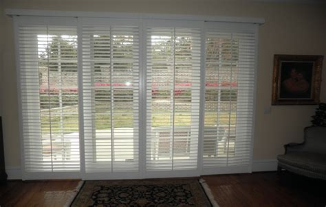 Shutters For Sliding Glass Patio Doors by Window Treatments For French Door Sliders Creative Of