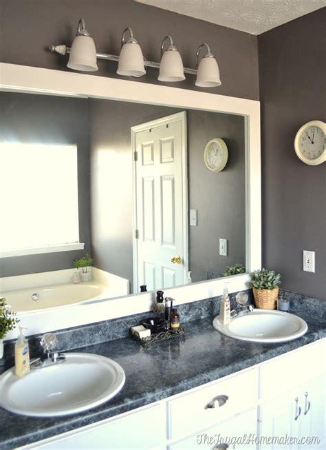 frame   builder basic bathroom mirror