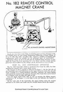 Lionel 282 Portal Gantry Crane Instruction Manual