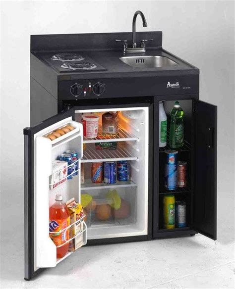 all in one kitchen sink and stove avanti all in one stove sink shelf fridge this would