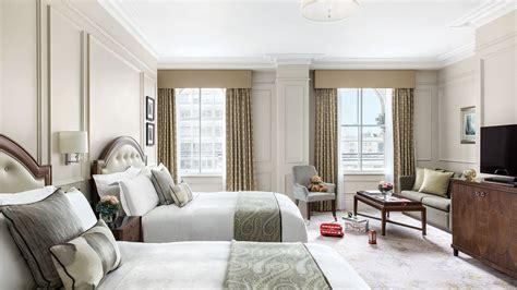 luxury family room hotel room  families  langham