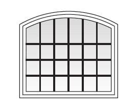 series specialty shape windows