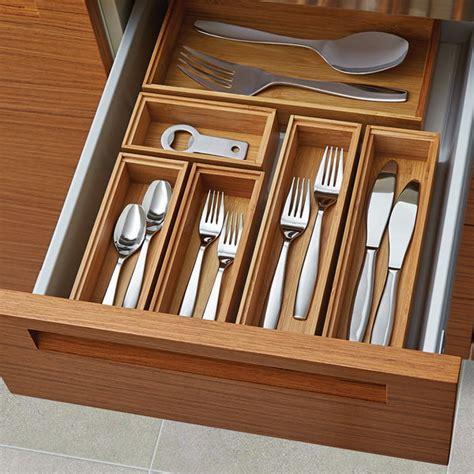 kitchen drawer organizers 14 ways to organize the kitchen silverware drawer core77 1586