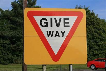 Signs Yellow Background Why Give Way Sign