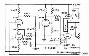 Operational D C Amplifier - Amplifier Circuit