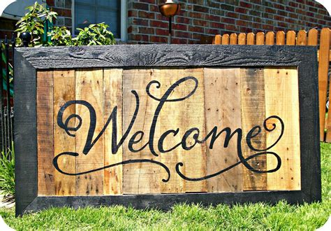 Wood Pallet Signs   Our Welcome Friends & Family. Flame Clipart Signs. Nightwing Logo. Metal Covered Decals. Daycare Lettering. Anti Static Signs. 16 Bit Stickers. Nserc Logo. Different Car Signs Of Stroke