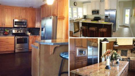 kitchen makeovers before and after photos featured 5 before and after kitchen makeovers 9495