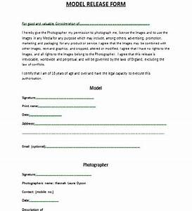 Model Release Forms images model release form template
