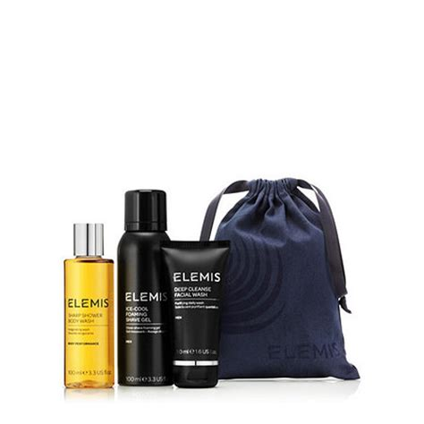 elemis  piece mens stocking filler  qvcukcom