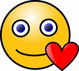 Download Love Heart Smiley clip art Vector Free