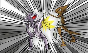 Kabutops Vs. Genesect by Shadow-pikachu7 on DeviantArt